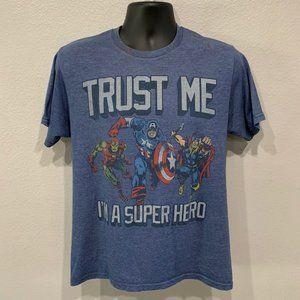 Marvel Comics Avengers I'm A Super Hero T-Shirt